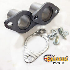 60mm ID Exhaust Flanges Repair Joint with Gasket + Bolts Tube Repair Section