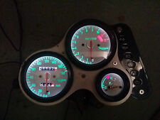 WHITE TRIUMPH 955i led dash clock conversion kit lightenUPgrade