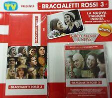 BRACCIALETTI ROSSI 3 DVD SERIE TV.1° DVD CON COFANETTO.PRIMA PUNTATA