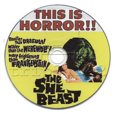 She Beast (1966) Horror / Thriller Movie on DVD