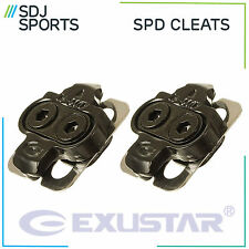 GENUINE EXUSTAR SHIMANO SM-SH51 SPD COMPATIBLE CLIPLESS PEDAL CLEATS E-C01F