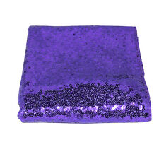 Square/Rectangle Sparkly Bling Sequin Tablecloth For Wedding/Party/Banquet Decor
