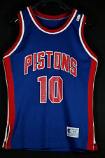 Authentic 1990 Champion dennis rodman detroit pistons SZ 44 nba camiseta Jersey