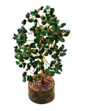 GREEN AVENTURINE GEM STONES TREE(100+ CHIPS) FOR LUCK WEALTH AND POSITIVE ENERGY