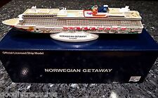 NCL Norwegian Cruise line GETAWAY Cruise Ship Model