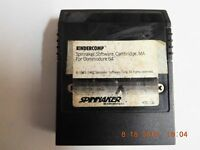 kINDERCOMP  Cartridge Commodore 64 C64 SX64 C128 Tested Working GOOD USED COND.