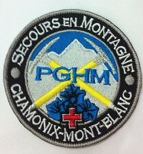Patch / Ecusson SECOURS EN MONTAGNE CHAMONIX MONT BLANC Mountain Rescue ski