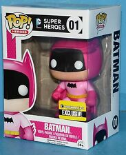 FUNKO MIB # 01 Batman EE Exclusive Pop! Vinyl Figure PINK Rainbow 75 Anni.