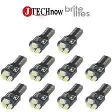10 x T5, 3 SMD LED White Super Bright Car Lights Lamp Bulb