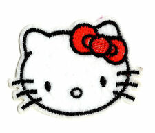 HELLO KITTY IRON ON / SEW ON PATCH Embroidered Badge PT65 CARTOON TV