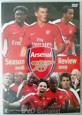 ARSENAL Football Club Season Review 2008 2009 English Premier League Soccer DVD