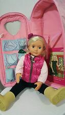 Our Generation Doll, Case, Accessories, Clothes, Book, Audrey Ann,18 inch, Gift!