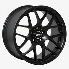 19x8.5 VMR Rims V710 CUSTOM ET35 Matte Black Wheels (Set of 4)