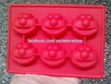 Sesame Street ELMO Ice Jelly Chocolate Fondant Soap Clay Silicone Mold Molder