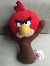 ANGRY BIRDS RED Slingshot PLUSH Stuffed Kids Toy Free Shipping Rovio