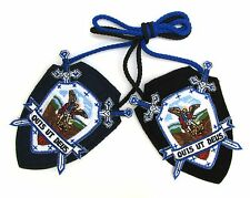 Scapular St Michael Archangel Confraternity Shield Scapular 100% Wool & Medals