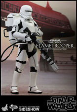 Sideshow Hot Toys STAR WARS FIRST ORDER FLAMETROOPER 1/6 Scale Figure FREE SHIP