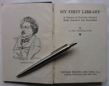 E LUCIA TURNBULL.MY FIRST LIBRARY.H/B 1ST/2 1932.SELECTION 45 BOOKS