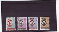 HAITI - SG806-809 MNH 1962 WORLD REFUGEE YEAR 3rd SERIES