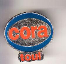 RARE PINS PIN'S .. HYPERMARCHE SUPERMARCHE CORA LORRAINE TOUL 54 ~GC