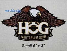 Small Eagle Patch ~ Harley Davidson Owners Group HOG H.O.G.