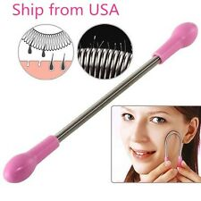 2PCS Face Facial Hair Spring Remover Stick Removal Threading Tool Epilator HOT!