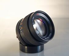 CARL ZEISS CONTAX YASHICA 50mm f 1.4 LENS. EXCELLENT CONDITION. CY MOUNT