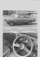 """ORIGINALE Vauxhall Magnum 1800 STAMPA FOTO """"opuscolo"""" correlati per il 1976 anno del modello"""