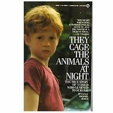 They Cage the Animals at Night by Jennings Michael Burch (1986, Hardcover)