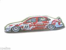 Genuine New VAUXHALL VECTRA B RED STICKER Opel SRi V6 Supertourer Motor Show