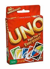 Mattel - Uno - Classic Card Game - Brand New
