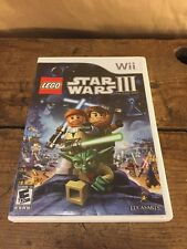 Lego Star Wars 3 III: The Clone Wars (Nintendo Wii, Disney LucasArts Game)
