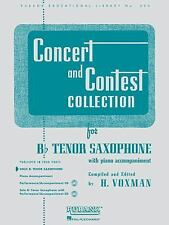 Concert and Contest Collection for Bb Tenor Saxophone: Solo Part