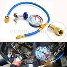 R134A R12 R22 TUBO FLESSIBILE PER GAS REFRIGERANTE CON Manometro 250PSI 1/4''