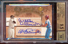 2005 UD HOF SIGNS COOPERSTOWN BROOKS ROBINSON MIKE SCHMIDT /20 BGS 9.5 10 AUTO