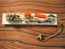 Wiring Harness for Esquire – Modded Eldred with TRUE BYPASS - Orange Drops