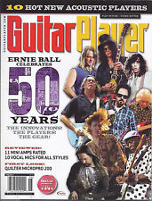 GUITAR PLAYER MAGAZINE June 2012 Ernie Ball Amps Vocal mics Acoustic player +