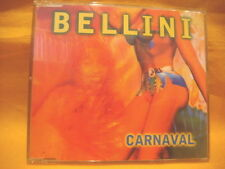 MAXI Single CD BELLINI Carnaval 4TR + video 1997 latin eurodance