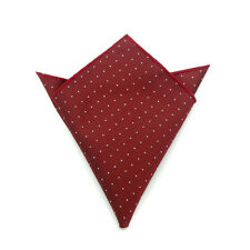 Men's Suit Pocket Towel Hanky Wedding Silk Polyester Pocket Handkerchiefs 14#