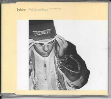 MAXI CD 6 TITRES--PET SHOP BOYS--BEFORE--