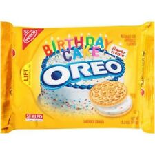 American OREO Golden Birthday Cake Cookies 15.25 OZ (432g)