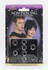 Clip sur la lèvre et nez Bijoux Body Piercing gothique emo punk robe fantaisie