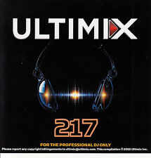 Ultimix 217 CD Ultimix Records Walk The Moon Andy Grammer Nate Ruess Krewella