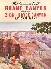 Imprimir anuncio viajes Union Pacific Railroad Grand Canyon National Park nofl1243