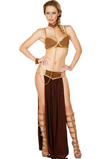 Deluxe Space Slave costume LC8880 sexy hollow out night club party dress women