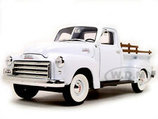 1950 GMC PICK UP TRUCK WHITE 1:18 DIECAST MODEL BY ROAD SIGNATURE 92648