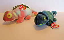 "TY Beanie Baby ""Iggy"" and ""Rainbow"" Recalled Rare and Valuable 1997 many Errors"