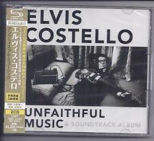 ELVIS COSTELLO Unfaithful Music & Soundtrack 2 CD JAPAN SHM CD UICY-15442/3 NEW