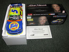 Kevin Harvick #5 Tide/Kroger Camaro Throwback Tribute Car AUTOGRAPHED WITH COA
