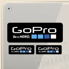 PEGATINA KIT GOPRO BE A HERO VINILO VINYL STICKER DECAL AUFKLEBER ADESIVI